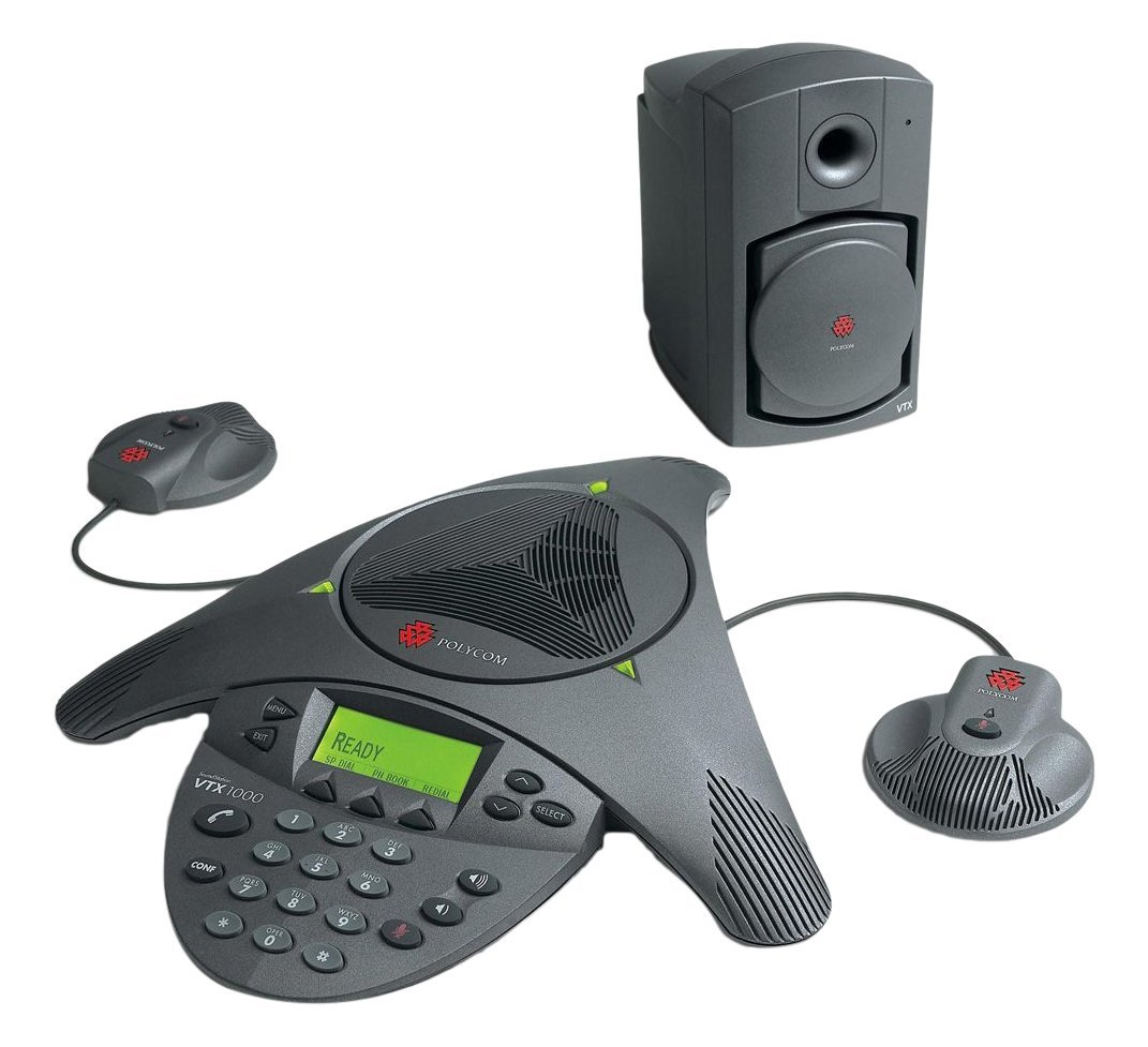 Polycom SoundStation VTX 1000 Conference Phone 2200-07300-001