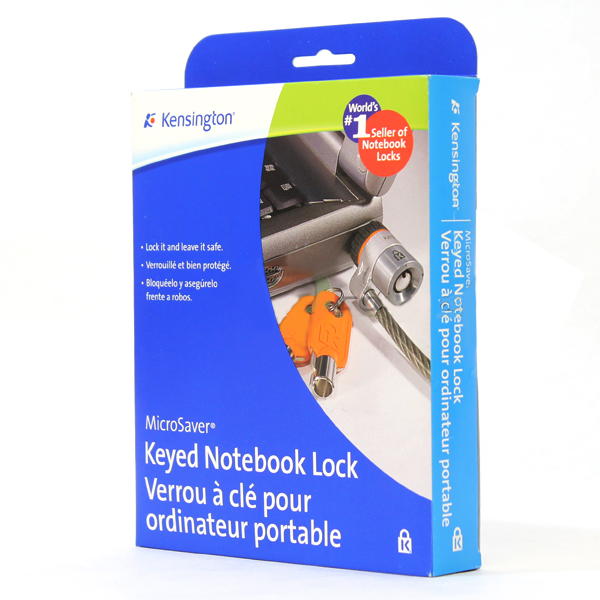 Kensington MicroSaver Keyed Notebook Lock 64068F Security Cable