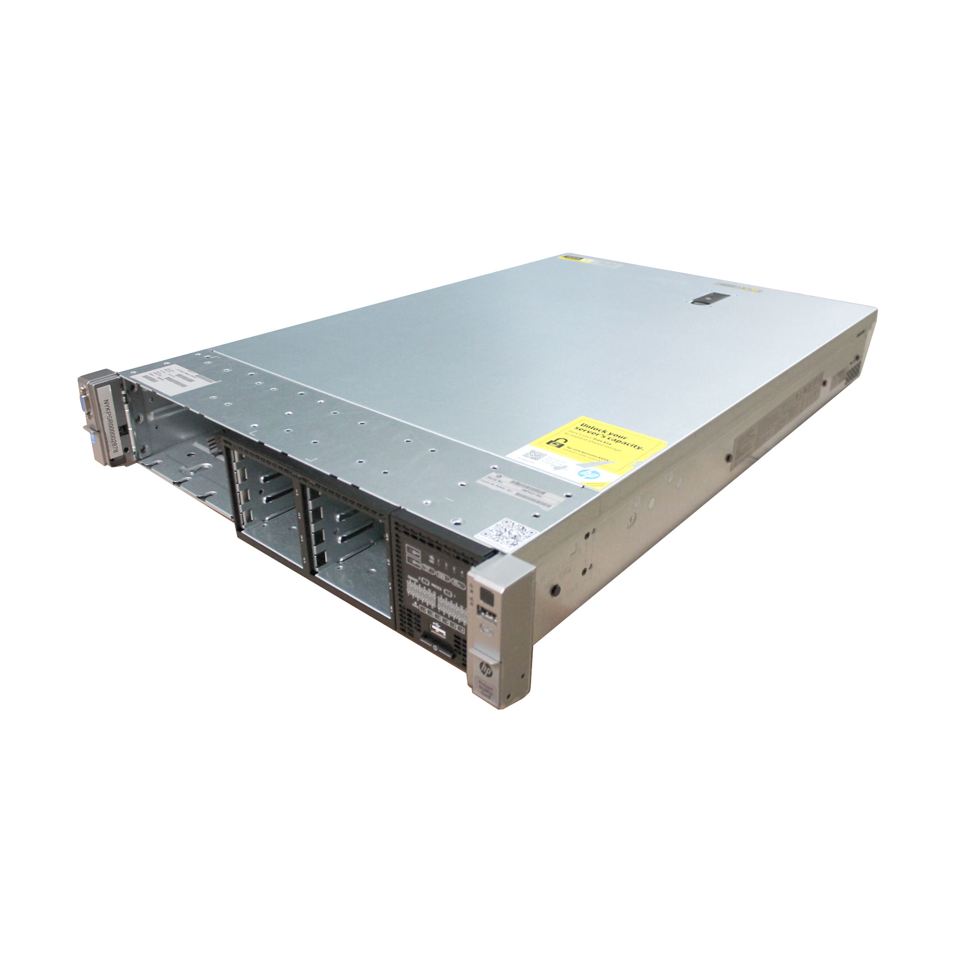 HP ProLiant DL380p Gen8 Server 2x E5-2670 2.6Ghz 32GB 670852-S01