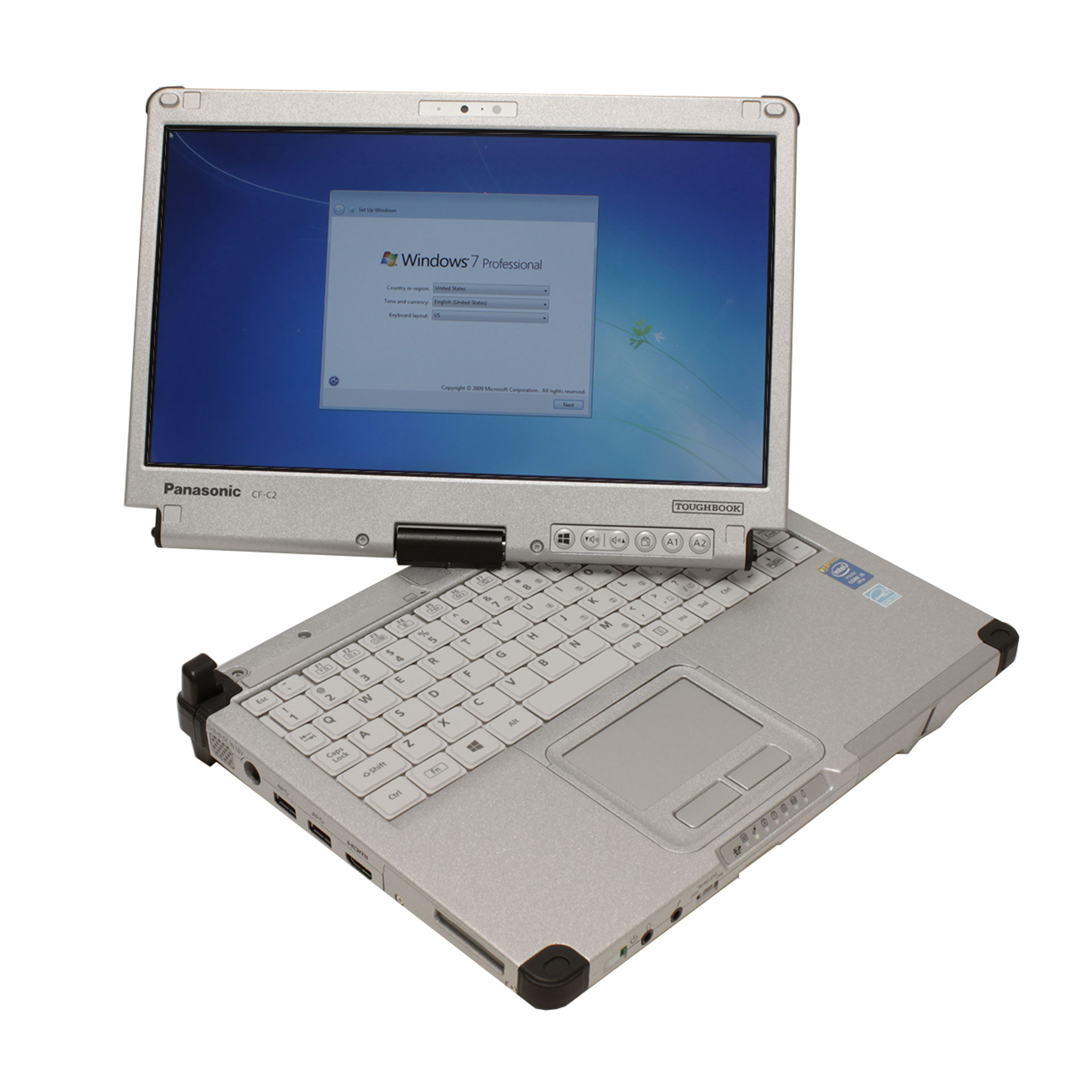 Panasonic Toughbook C2 CF-C2CCAPXCM Tablet PC i5-4300U 4GB/500GB