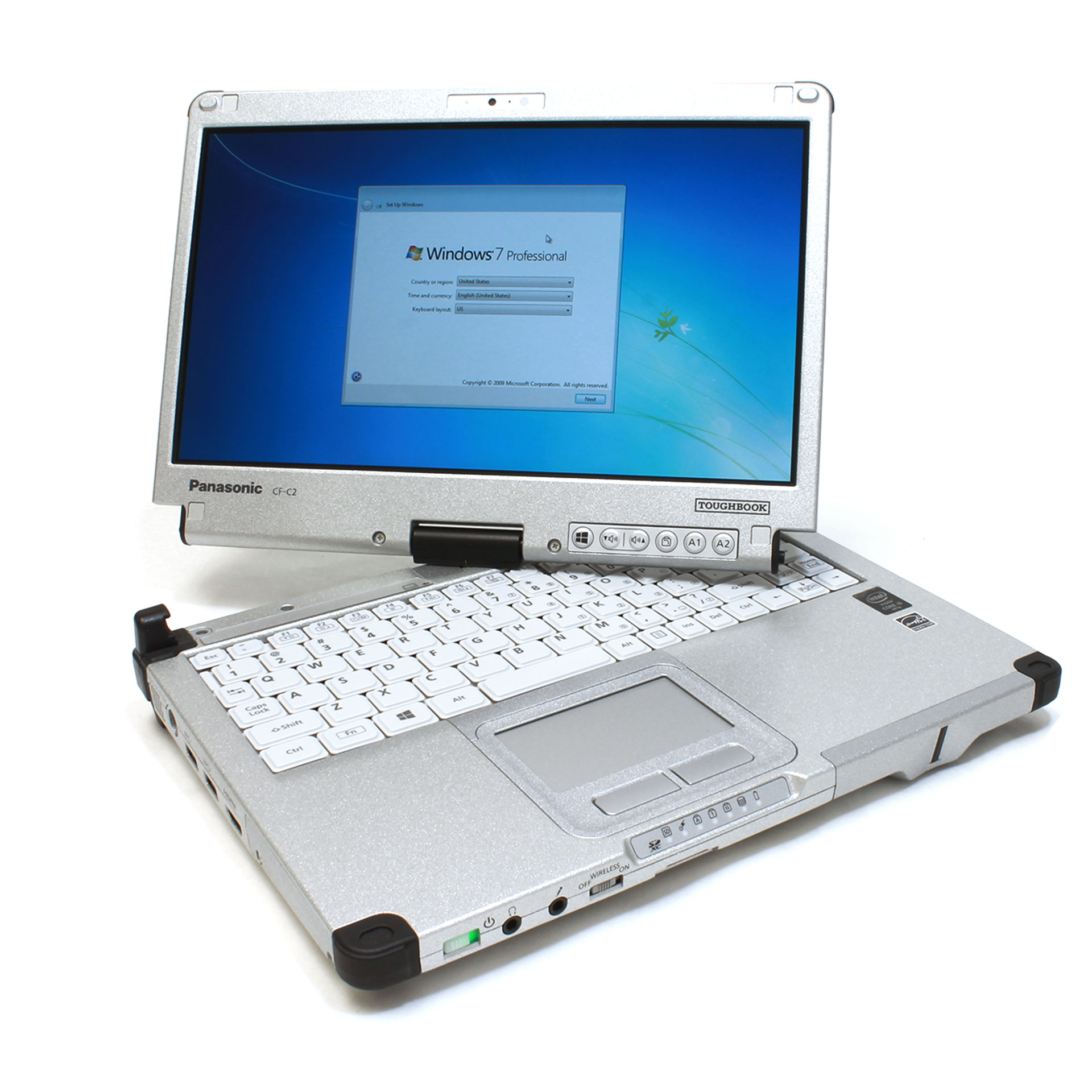 Panasonic Toughbook CF-C2CUGPXKM Intel i5-4310U 2.0GHz 4GB 256GB