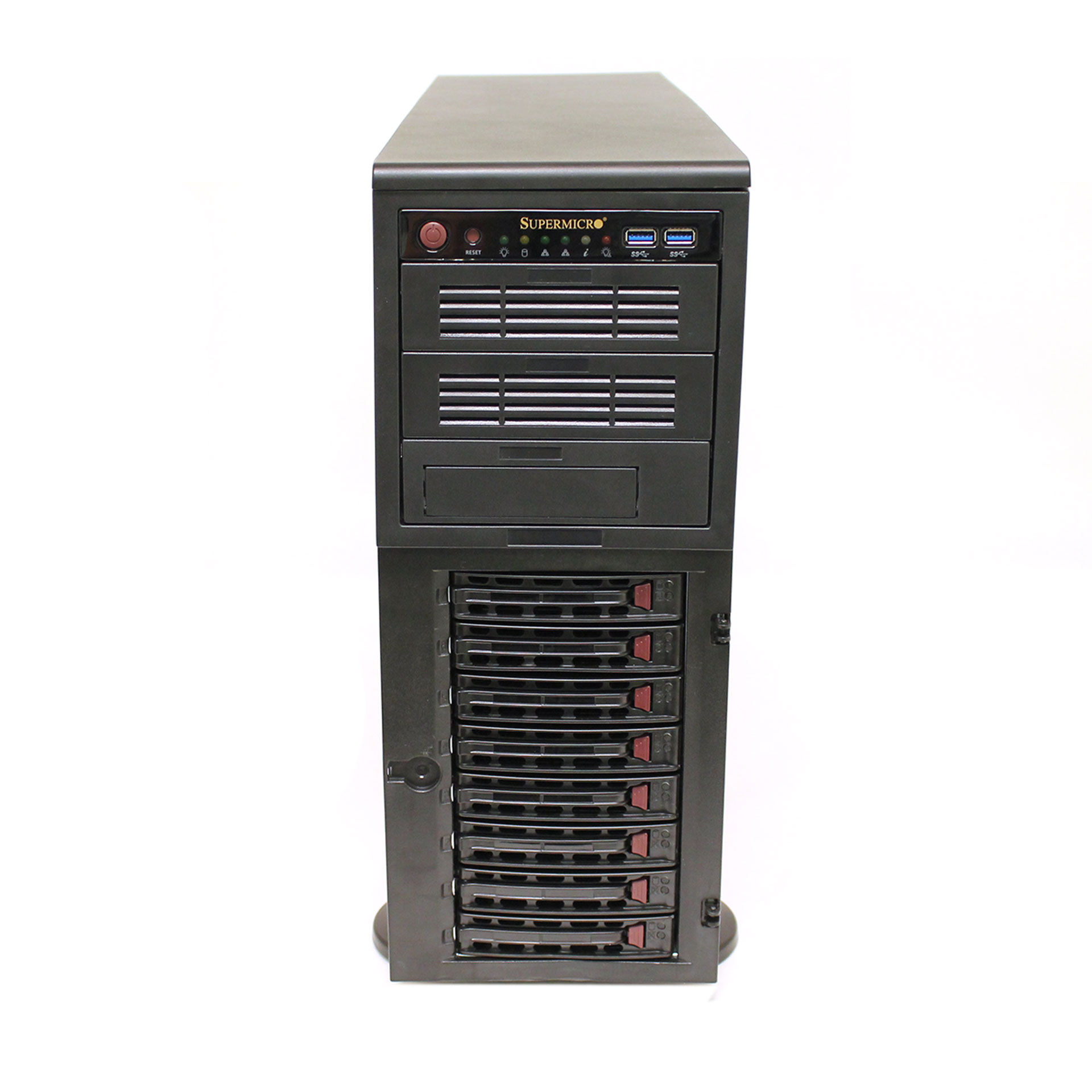 Supermicro SuperWorkstation No CPU/RAM/HDD Model:743-12, 7048A-T