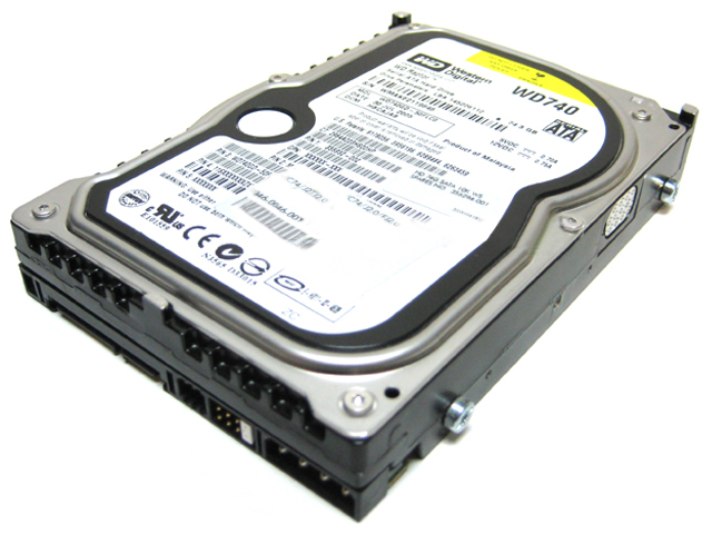 "WD Raptor 74GB SATA 3.5"" 10K RPM 1.5Gb/s Hard Disk HDD WD740"