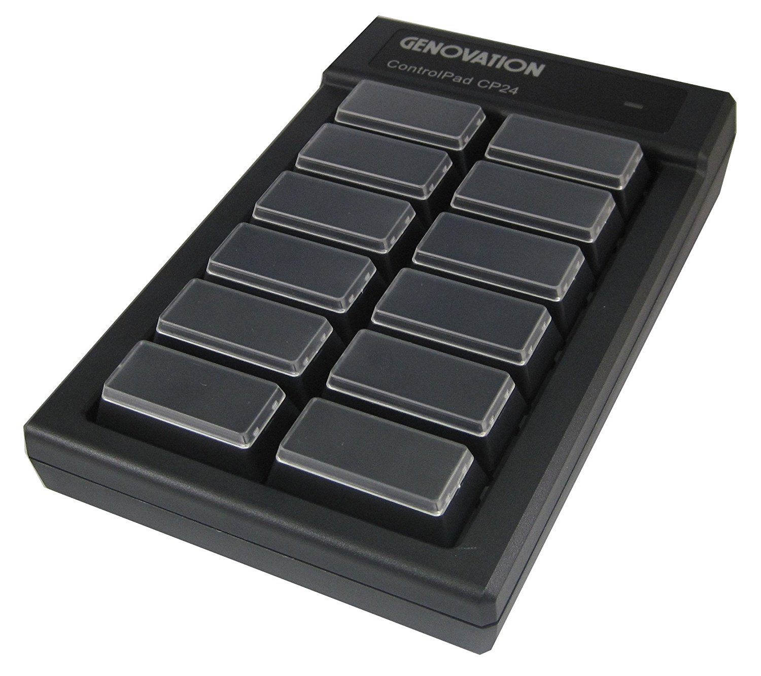 Genovation Controlpad CP24 USB Mechanical Keypad Black CP24-USBH