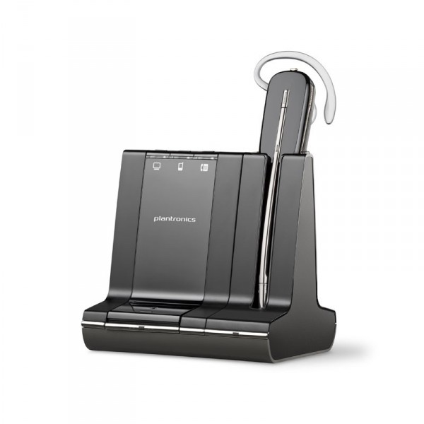 Plantronics Savi W740-M Headset 84001-01 convertible 700-series