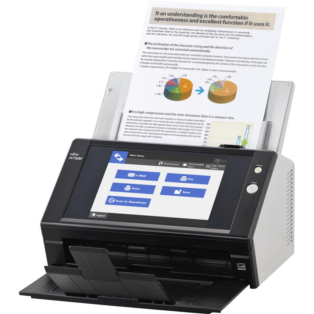 Fujitsu Network N7100 PA03706-B205 Document Scanner