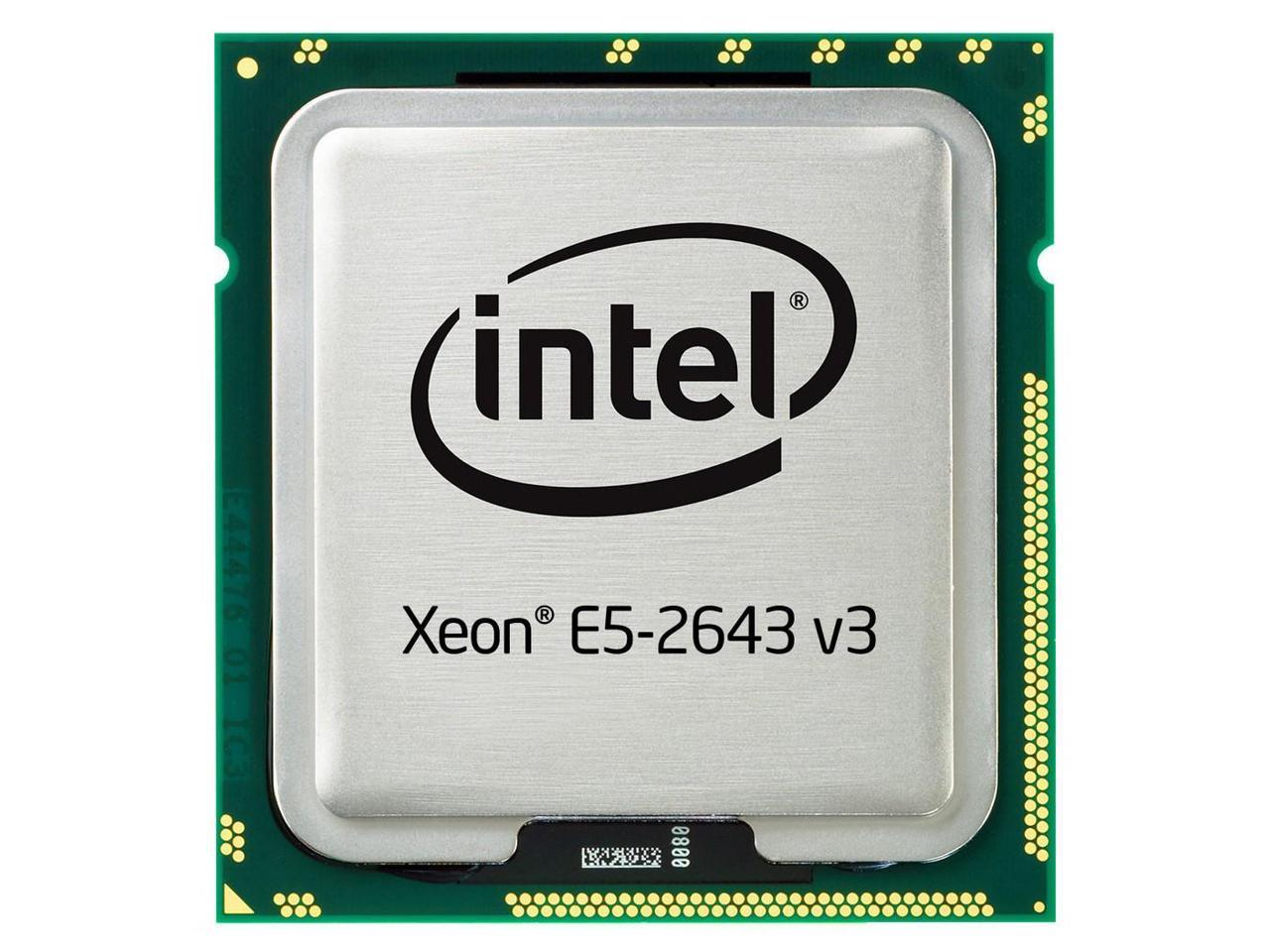 Intel Xeon E5-2643 V3 3.4GHz LGA2011-3 CPU Processor SR204