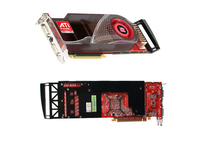ATI FireGL V8650 2GB GDDR4 PCI-E x16 Workstation Video Card