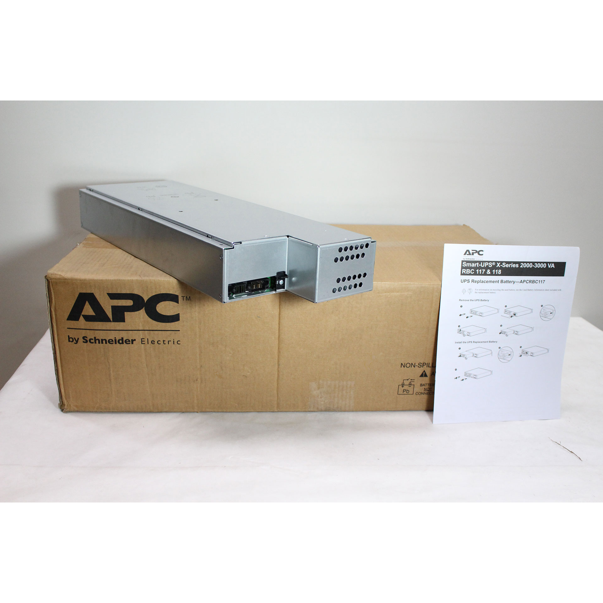 Genuine APC Replacement Battery Cartridge UPS Battery APCRBC118