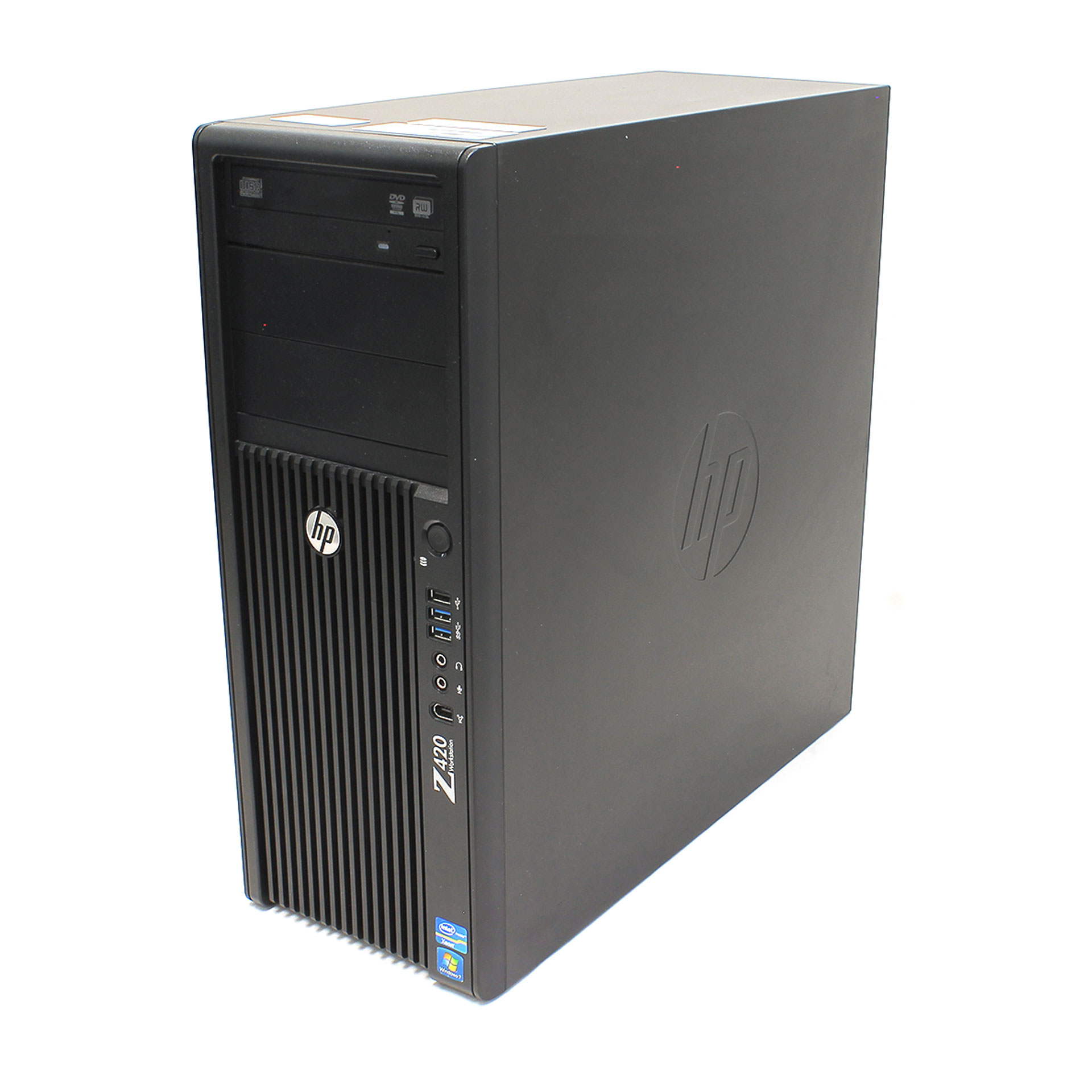 HP Z420 Workstation PC Xeon E5-1607 4GB RAM HD6350 _NO HDD_