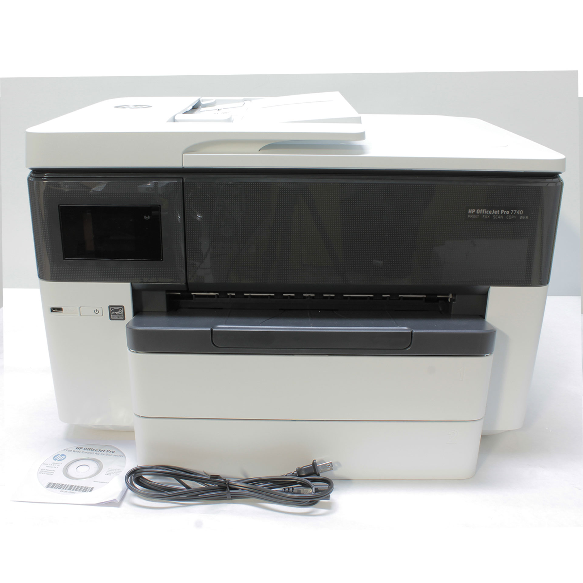HP Officejet Pro 7740 Color Multifunction Printer G5J38A AiO