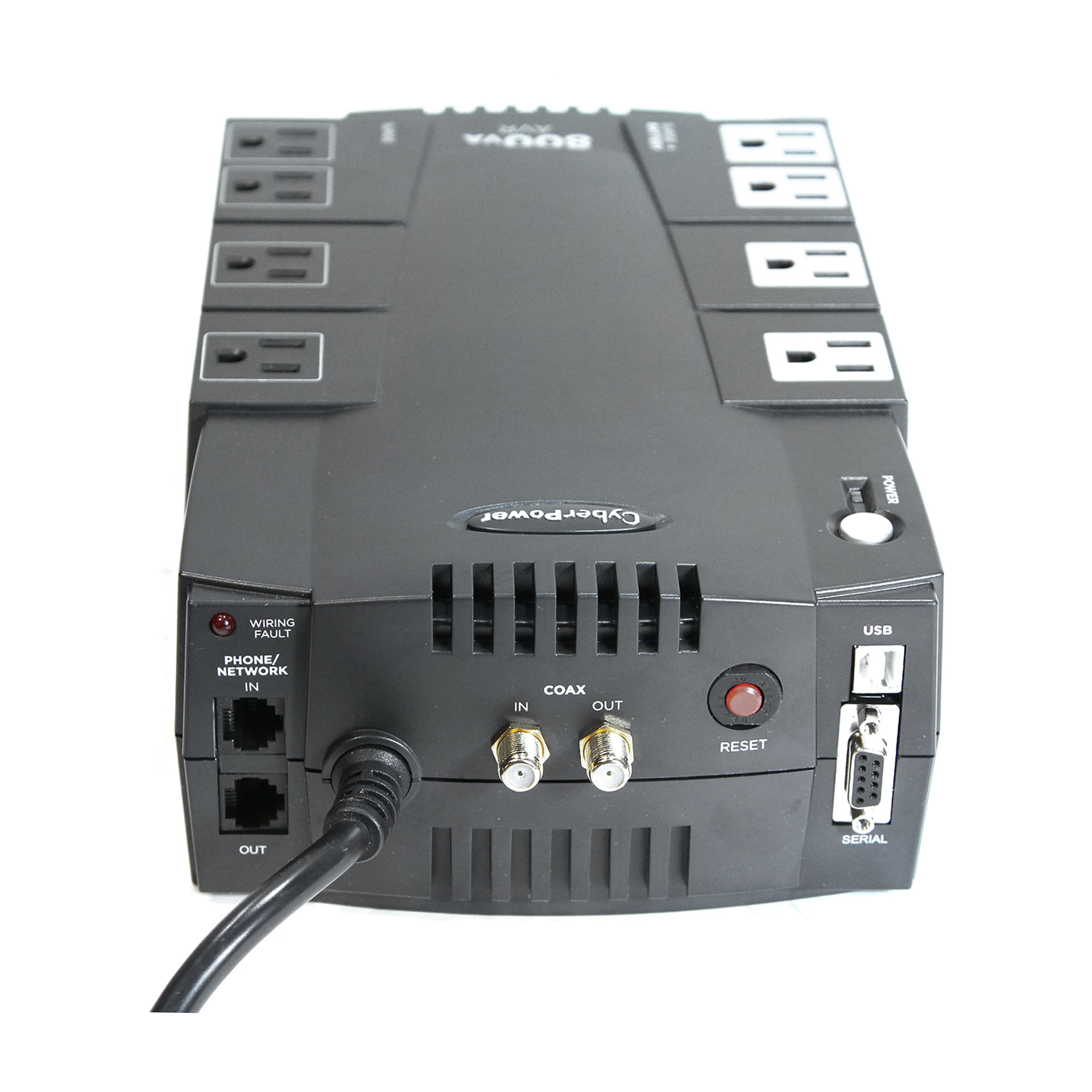 CyberPower AVR CP800AVR 800 VA 450 W 8 Outlets UPS