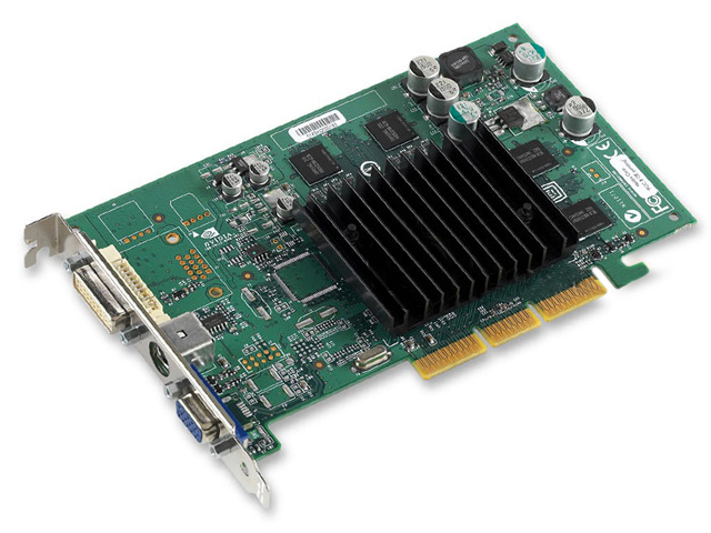 nVidia HP Quadro4 380 XGL 64MB AGP x8 Graphics Card 311507-001