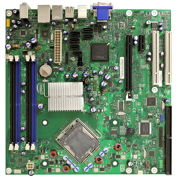 Intel DQ965CO Desktop Board microBTX LGA775 Q965 Chipset Express
