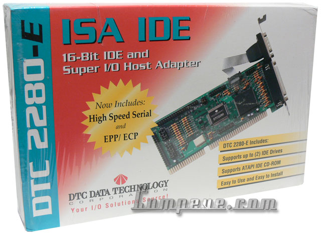 DTC 2280-E ISA-IDE HDD 16-bit Super I/O Host Adapter/Controller