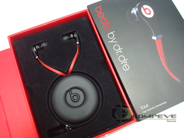 Beats by Dr. Dre Tour High Resolution In-Ear Headphones Black