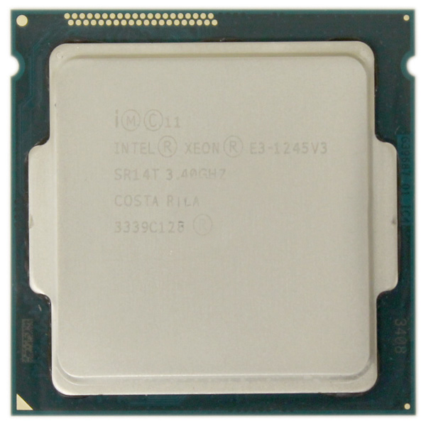 Intel Xeon E3-1245V3 Quad Core 3.40GHz LGA1150 Processor SR14T