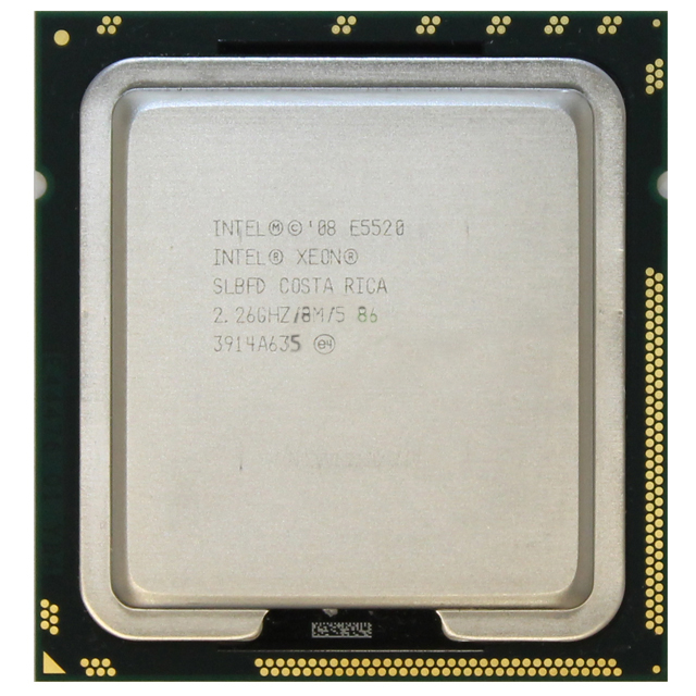 Intel Xeon Quad Core 2.26GHz CPU E5520 8MB Cache 5.86 GT SLBFD