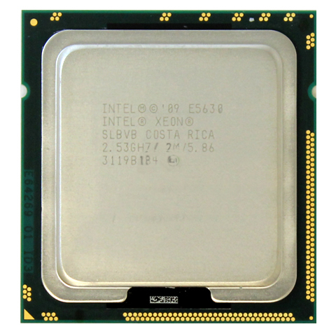 Intel Xeon Quad Core 2.53GHz CPU E5630 12MB Cache 5.86 GT SLBVB