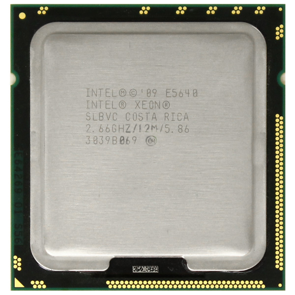 Xeon E5640 Quad Core 2.66GHz LGA1366 12MB Processor CPU SLBVC