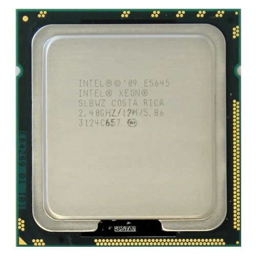 Intel Xeon Quad Core 2.40GHz CPU E5645 12MB Cache 5.86 GT SLBWZ