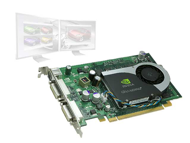nVIDIA QUADRO FX 1700 FX1700 512MB GRAPHICS CARD HP GU091AV