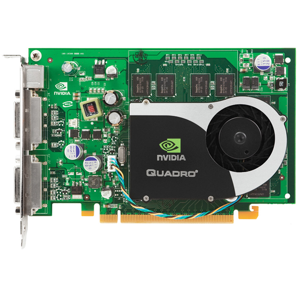 Nvidia Quadro FX1700 512MB PCIe x16 Graphics Card Dell RN034