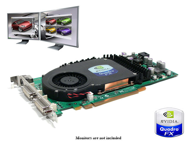 nVIDIA Quadro FX 3450, FX3450 SLI PCI-E,GRAPHICS CARD, CAD,DCC [FX