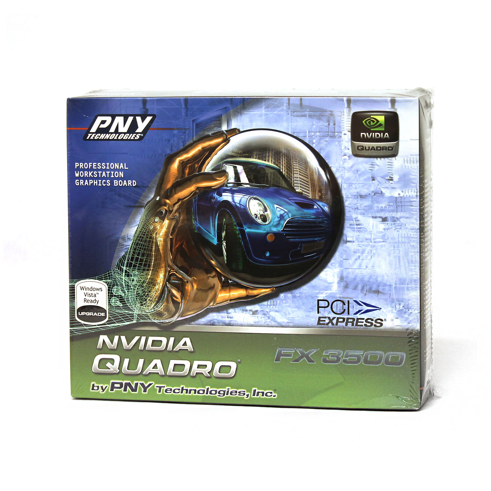 PNY Nvidia Quadro FX 3500 PCIe x16 256MB Dual DVI Video Card