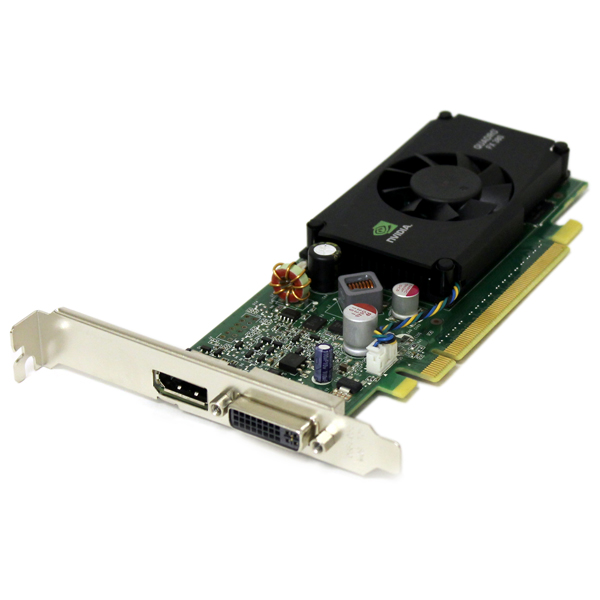 HP nVidia Quadro FX 380 FX380LP PCI-E x16 Video Card 607239-001