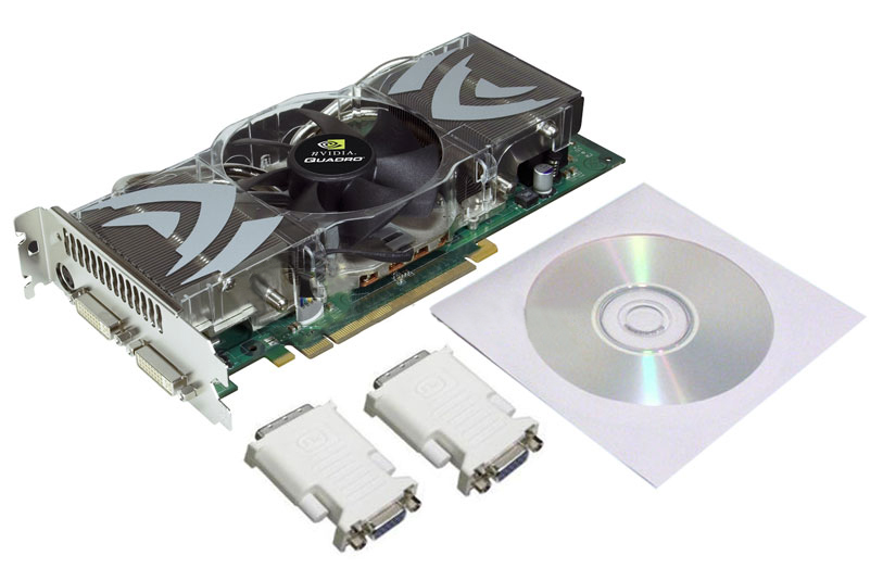 nVIDIA QUADRO FX 5500,FX5500 1GB PCI-E x16,Graphics Card,CAD,DCC