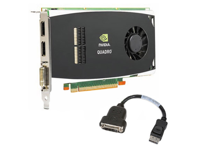 nVIDIA QUADRO FX1800 768MB Video Card 508284-001 HP FY946AA