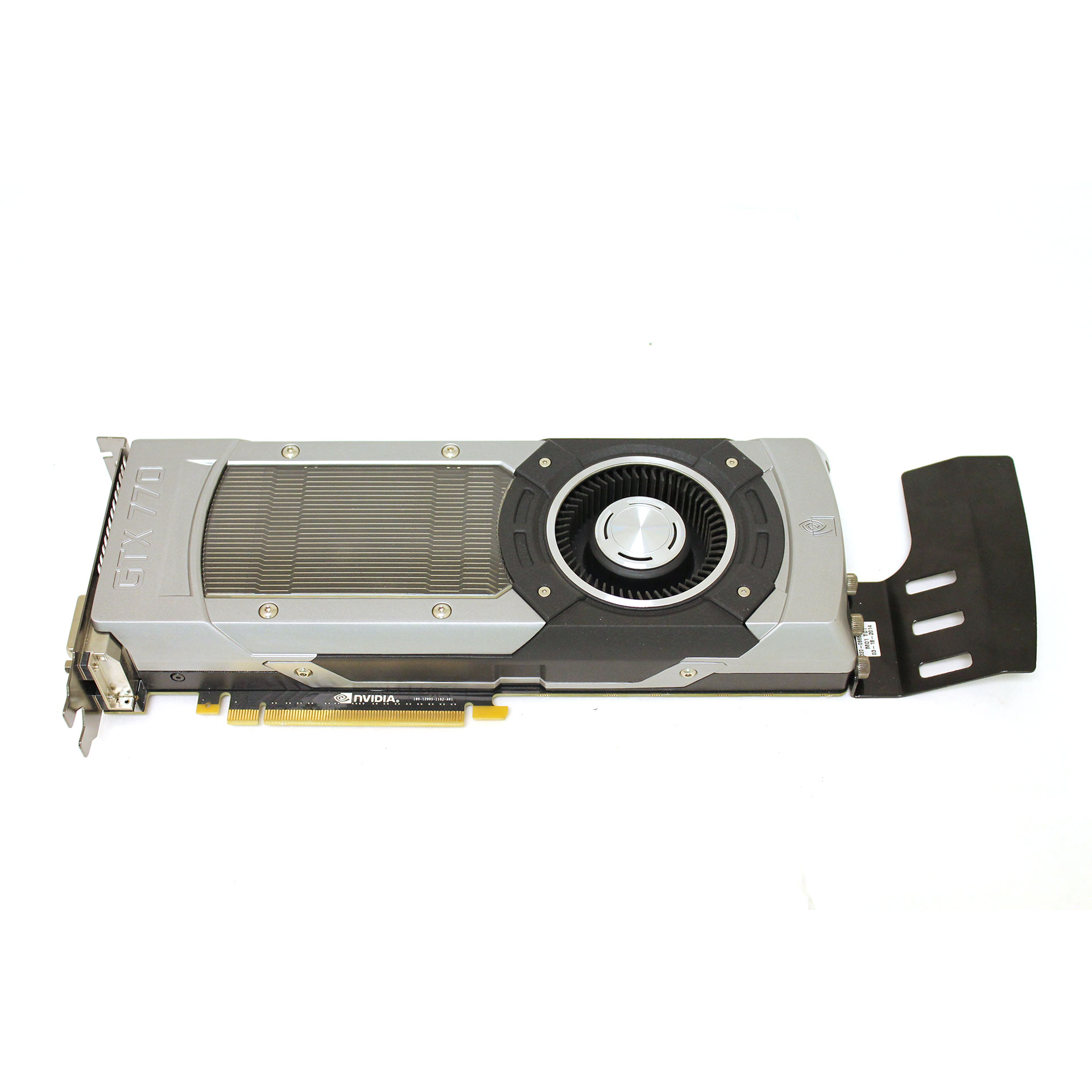 DELL/NVIDIA GEFORCE GTX 770 GPU GRAPHICS CARD 2GB GDDR5 PN 198W2