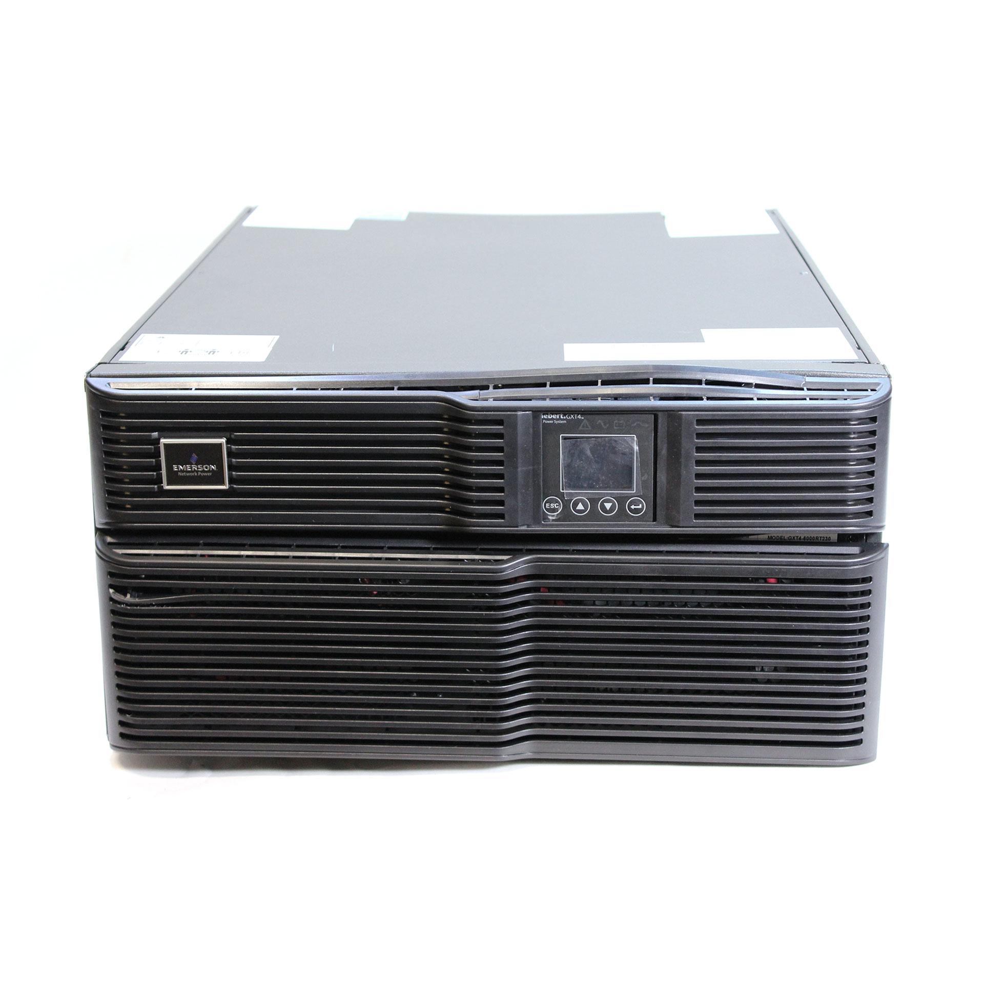 Liebert Battery Monitoring System : Emerson liebert gxt rt ups watt va tower