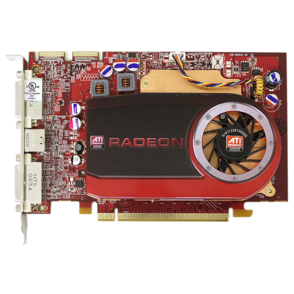 ATI Radeon HD 4670 512MB DDR3 PCIe x16 DVI Video Card Dell M639J