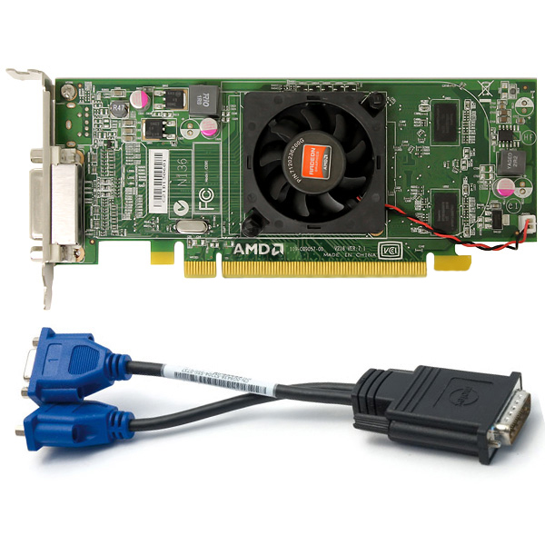 HP AMD FirePro V5900 2GB PCIe x16 Graphics Card LS992AT 654595-001 653328-001