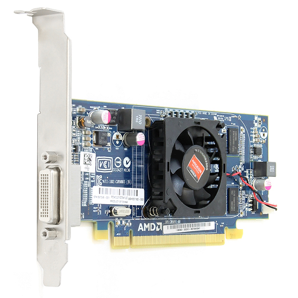AMD Radeon HD 6350 LP Video Graphics Card 512MB PCIe X16 QK638AA