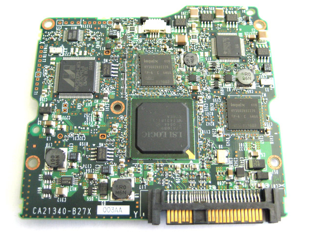 Fujitsu 73.4GB MAX3073RC Hard Drive Logic Board HDD SAS HPF1 PCB
