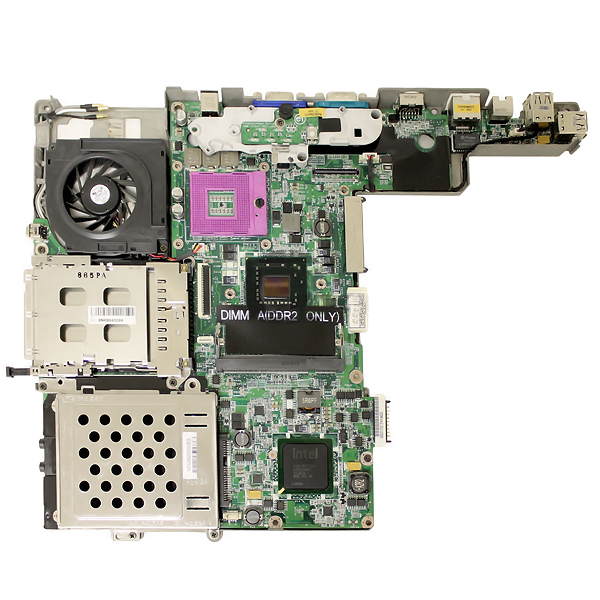Dell HP721 Socket P PGA 478 Motherboard for Latitude D530