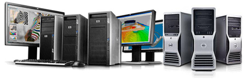 HP Dell Workstations Compeve