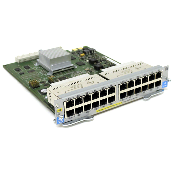 HP ProCurve J8702A 24-Port Gig-T PoE 10/100/1000 Module for 5400