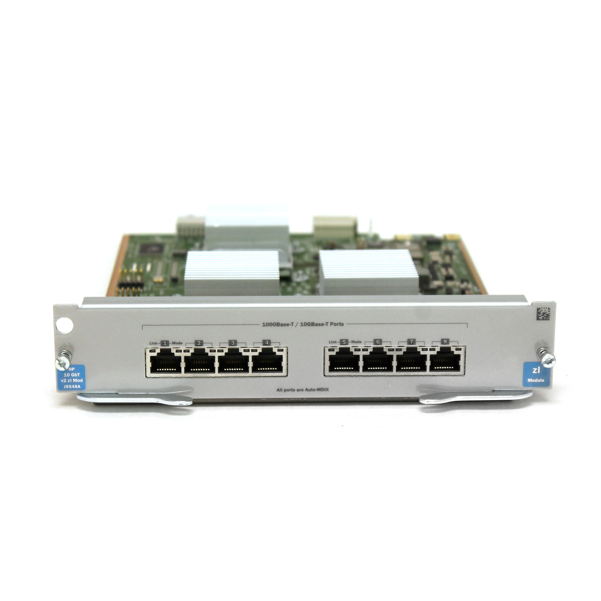 HP J9546A 8-port 10GBASE-T v2 zl Switch Module