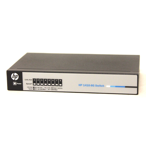 HP 1410-8G Ethernet Switch 10/100/1000 - 8RJ-45 J9559A