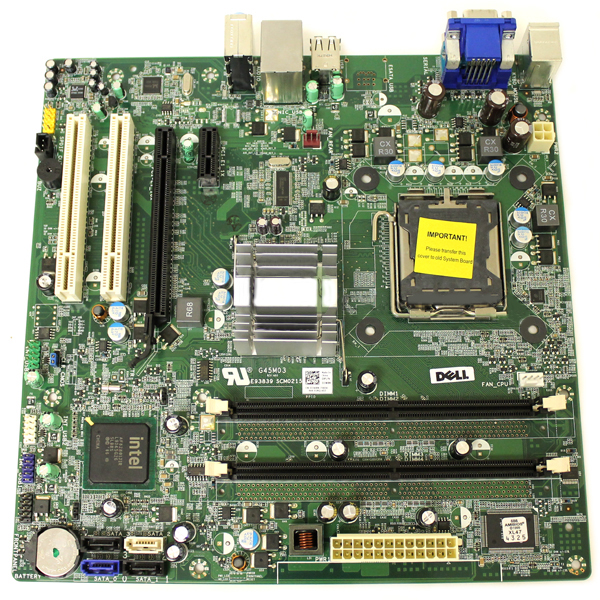 Intel G45M03 Motherboard LGA775 Intel G45 Dell JJW8N Vostro 220