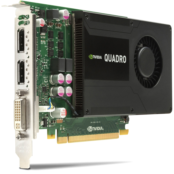 NVIDIA Quadro K2000 2GB Kepler Video Card HP C2J93AT 700130-001
