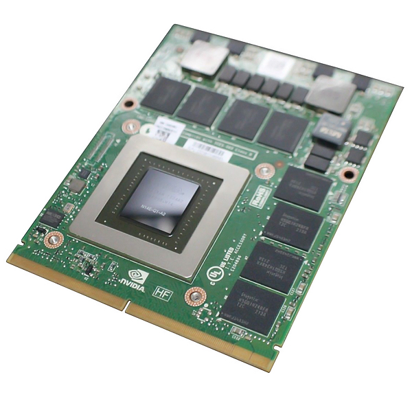 Nvidia Quadro K3000M 2GB MXM Mobile GPU Dell X5FFM N14EQ1