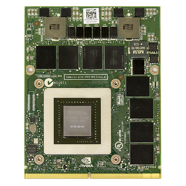 Nvidia Quadro K4000M 4GB GDDR5 MXM GPU Video Card Dell 047NP