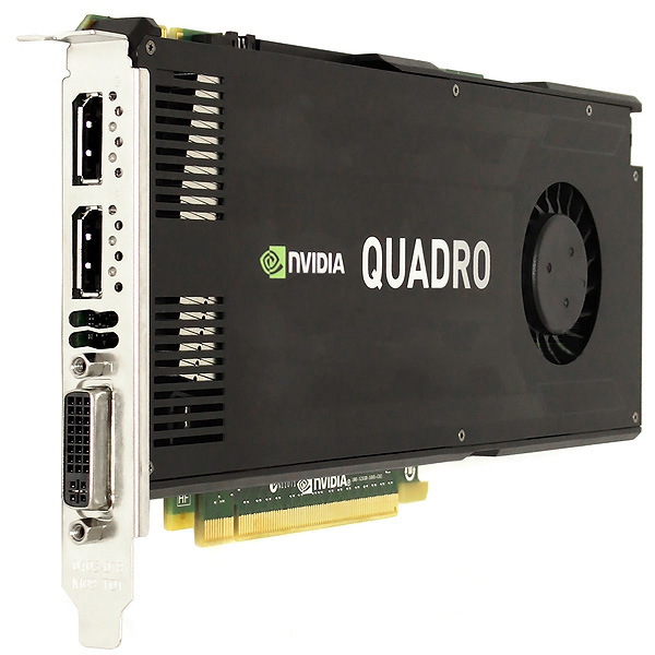 DELL Nvidia Quadro K4000 3GB PCIe 2.0 x16 Graphics Card CN3GX