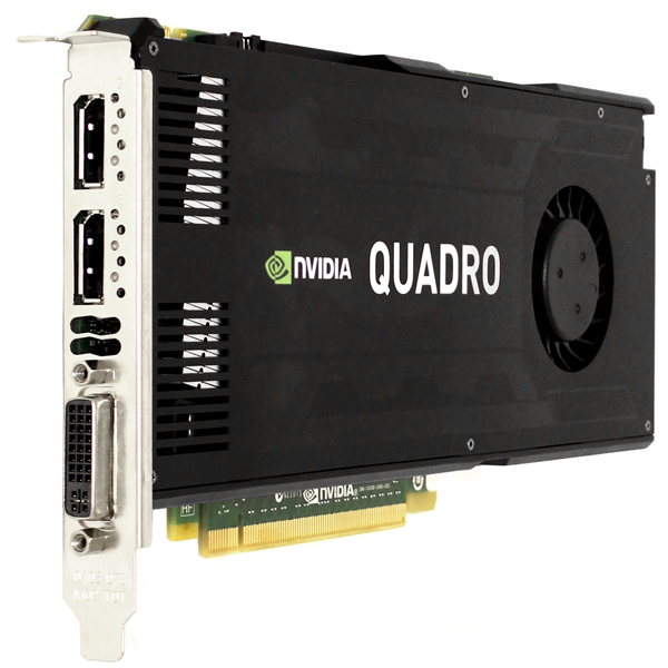 PNY Nvidia Quadro K4000 3GB GDDR5 GPU Graphics Card VCQK4000-PB