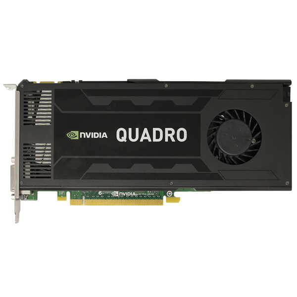 HP Nvidia Quadro K4000 3GB PCIe 2.0 x16 Graphics Card 713381-001